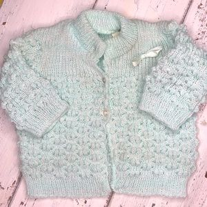 Vintage Knitted Baby Sweater
